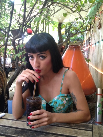 surf bar williamsburg brooklyn soda tattoo girl