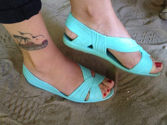 surf bar williamsburg sand tattoo american apparel shoes